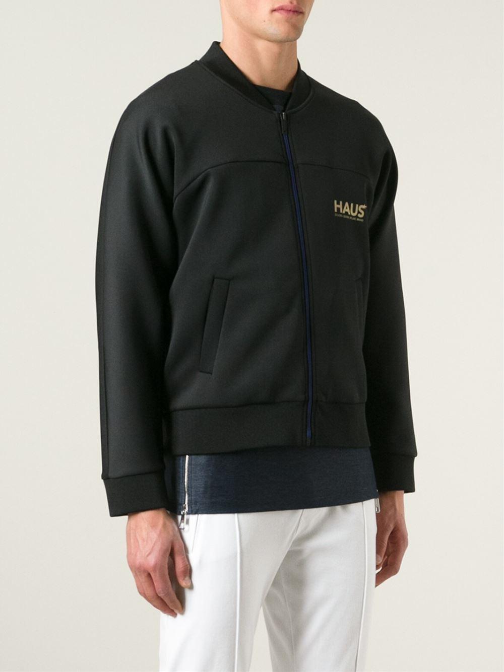 Golden Goose Deluxe Brand Haus X Ggdb Bomber Jacket in Black for Men