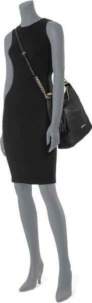 Medium Weston Pebbled Shoulder Bag 54