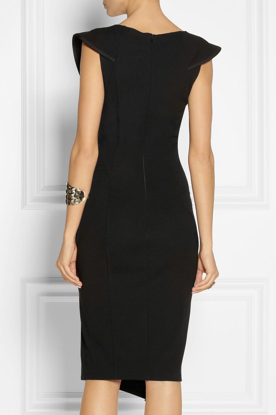Donna Karan Modern Icons Stretch Jersey Dress In Black Lyst