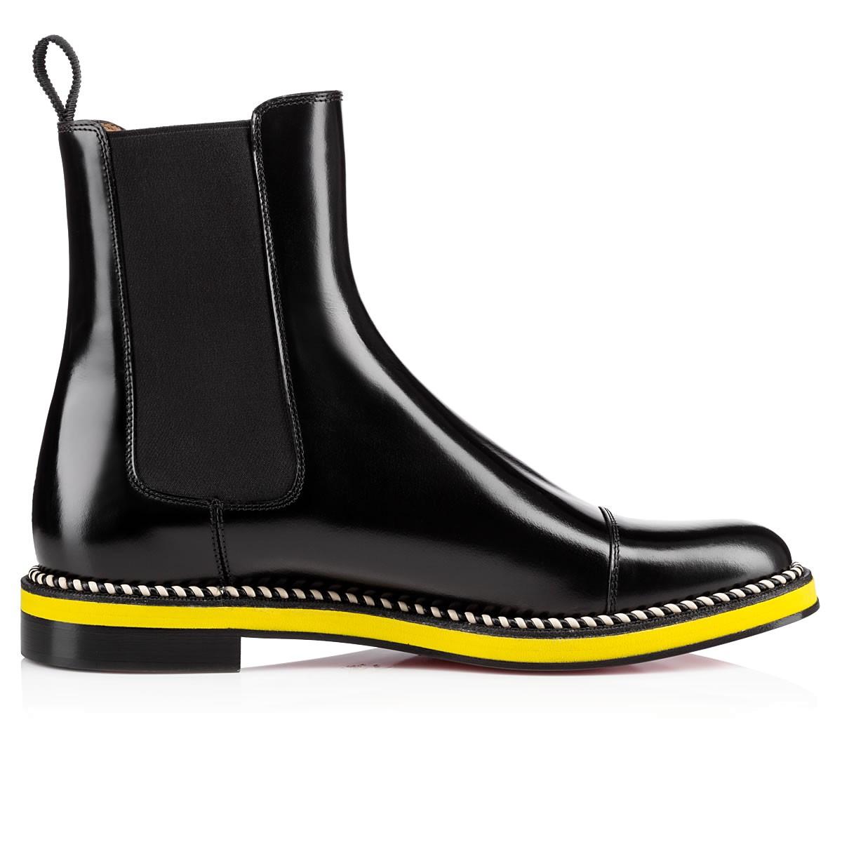 christian louboutin joni boot in black for lyst