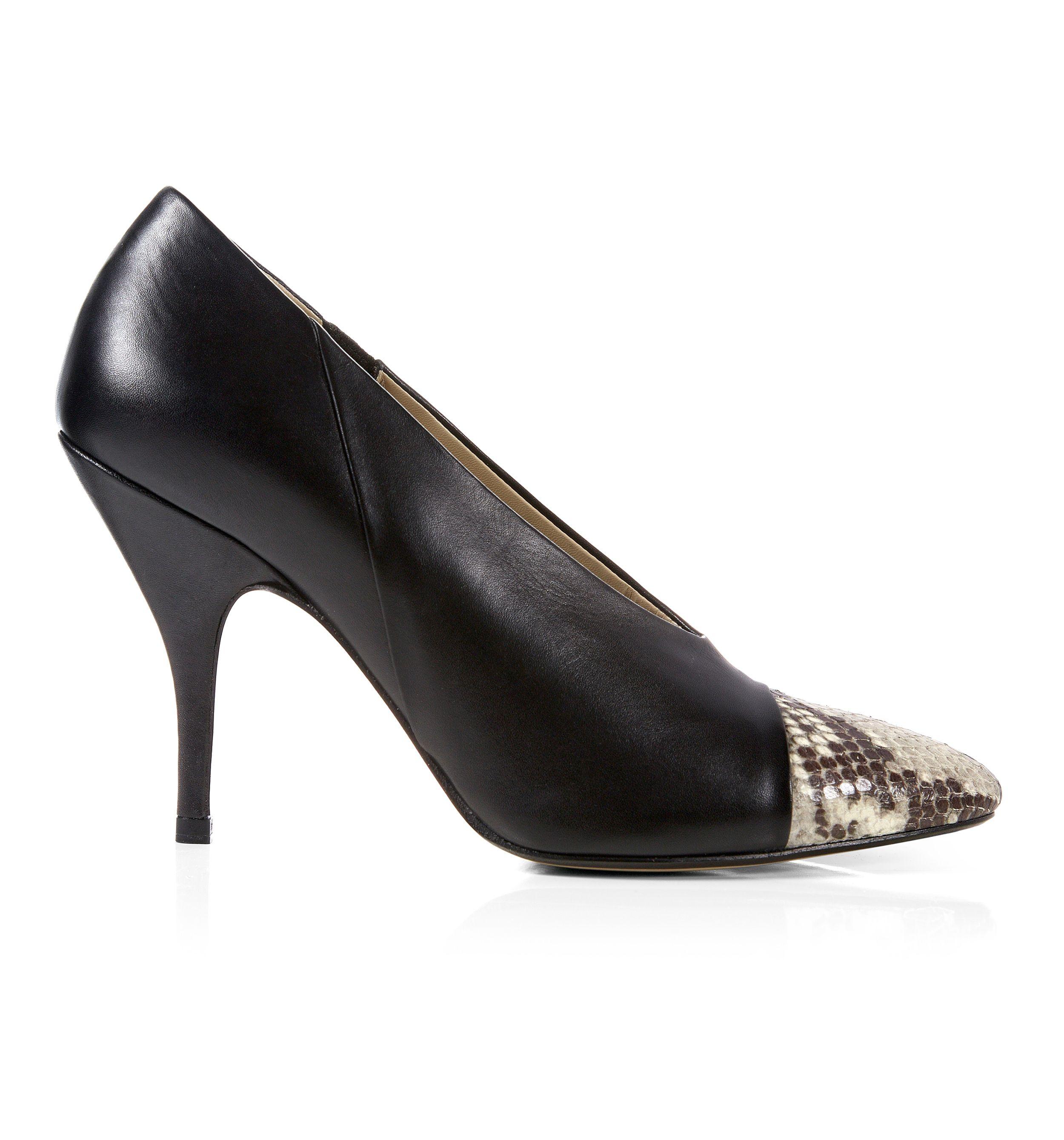 Hobbs Black Suede Shoes