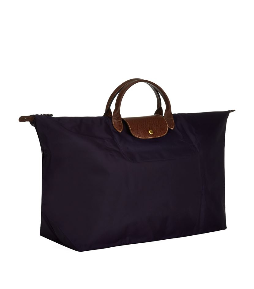 longch le pliage large travel bag in blue lyst