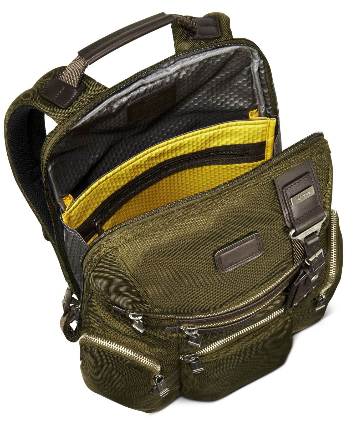 Tumi Alpha Bravo Knox Backpack In Green For Men Lyst