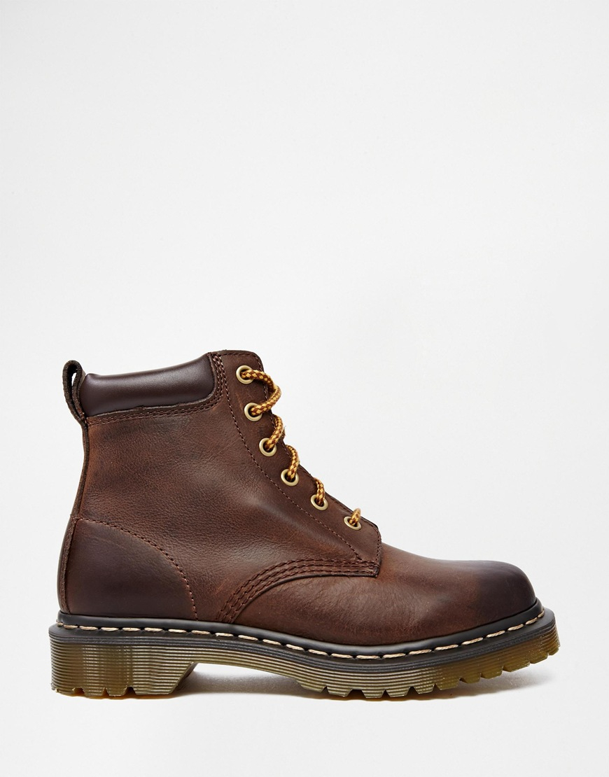 Dr. martens Core 939 Brown Hiking Boots in Brown | Lyst
