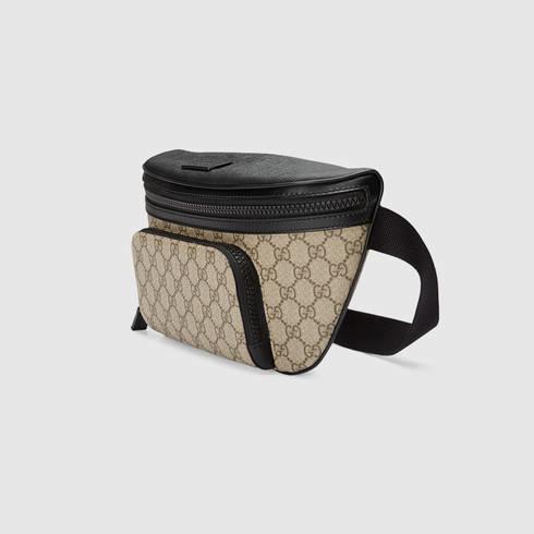 8c8a79a52039 Gucci Gg Supreme Belt Bag in Natural for Men - Lyst