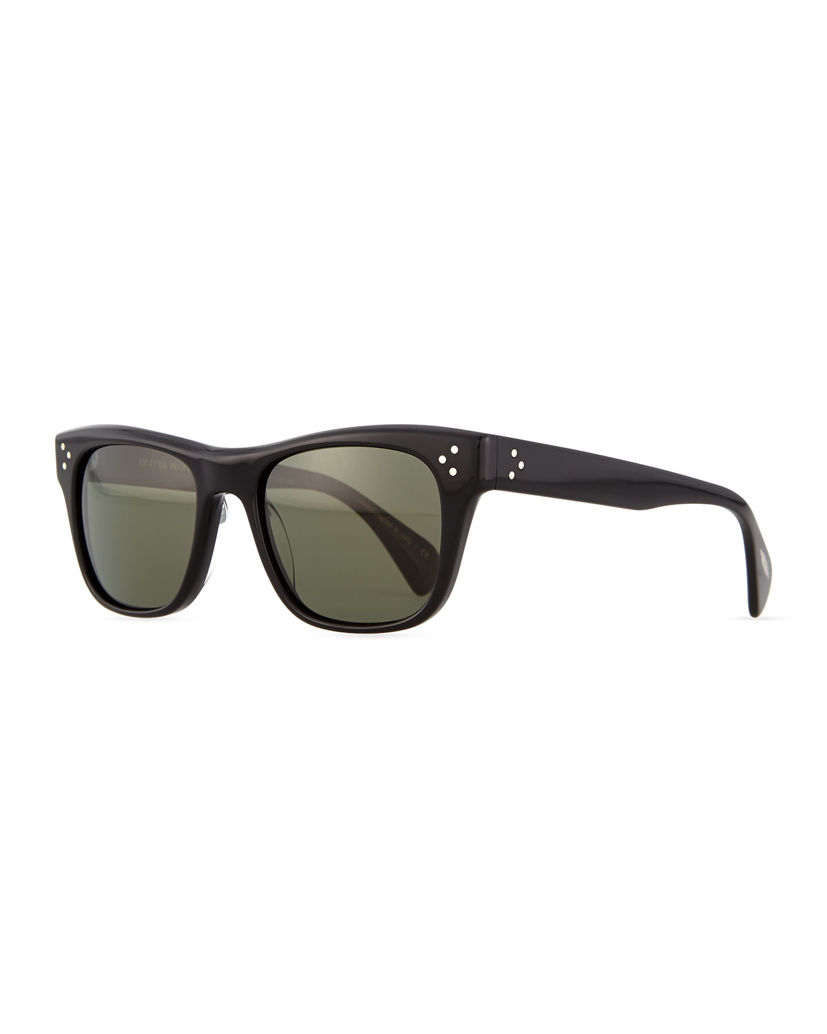 93e2d7a788 Lyst - Oliver peoples Jack Houston Polarized Sunglasses in Black