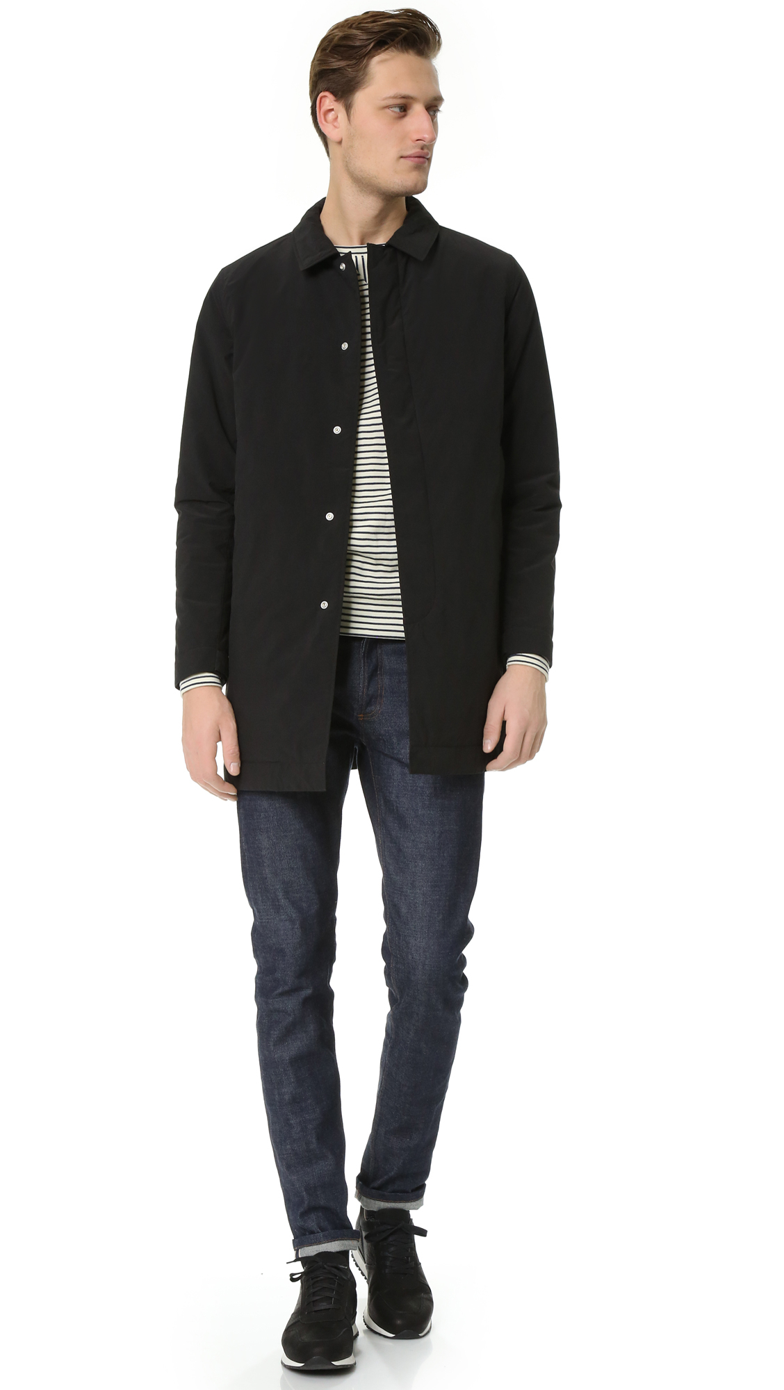 52c94854f Norse Projects Black Thor Jacket for men