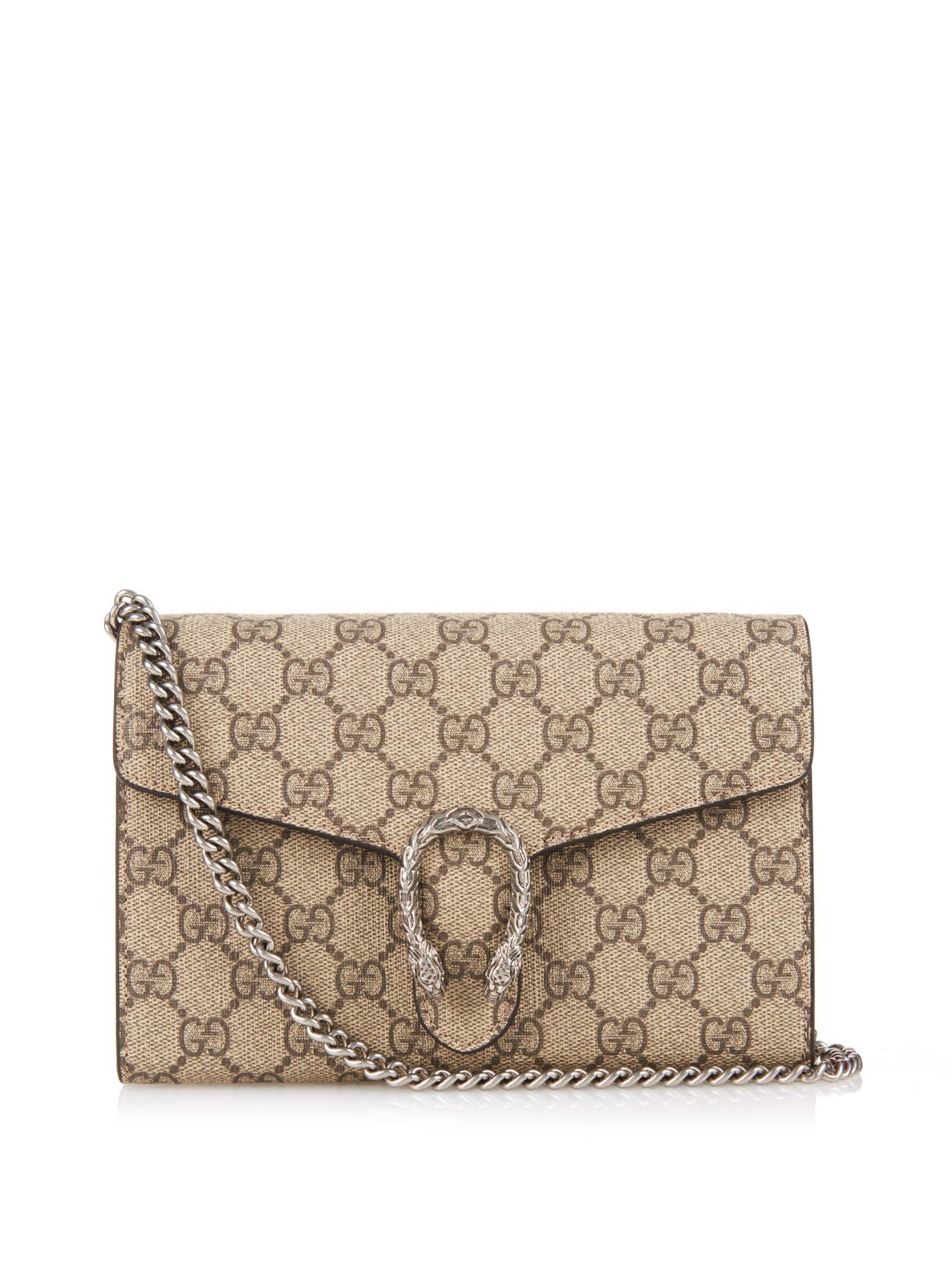 49998319c732 Lyst - Gucci Gg Supreme Canvas Cross-body Bag in Natural