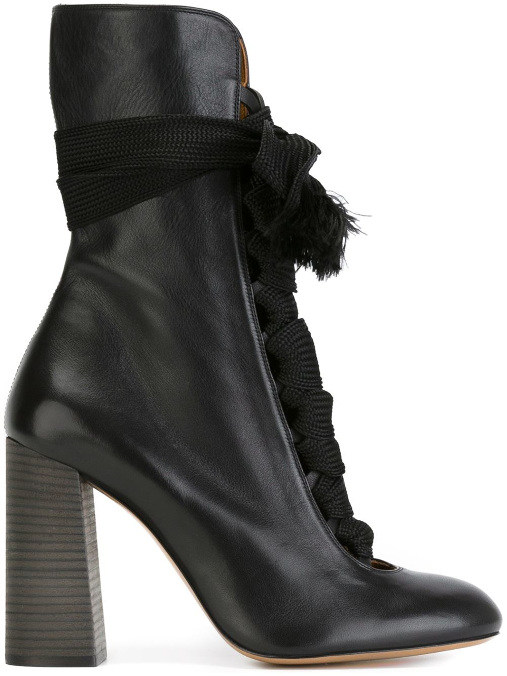 Chlo 233 Harper Boots In Black Lyst