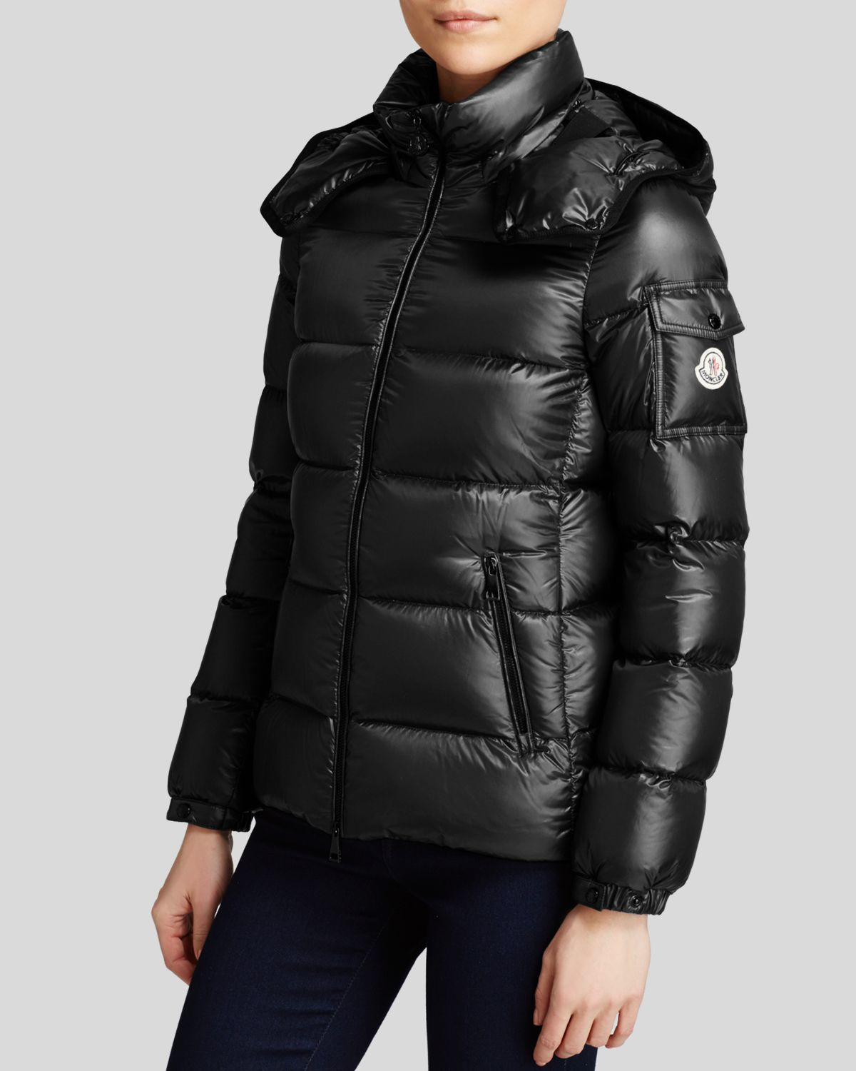 a3a6dd311 Moncler Gray Berre Quilted Down Shell Jacket