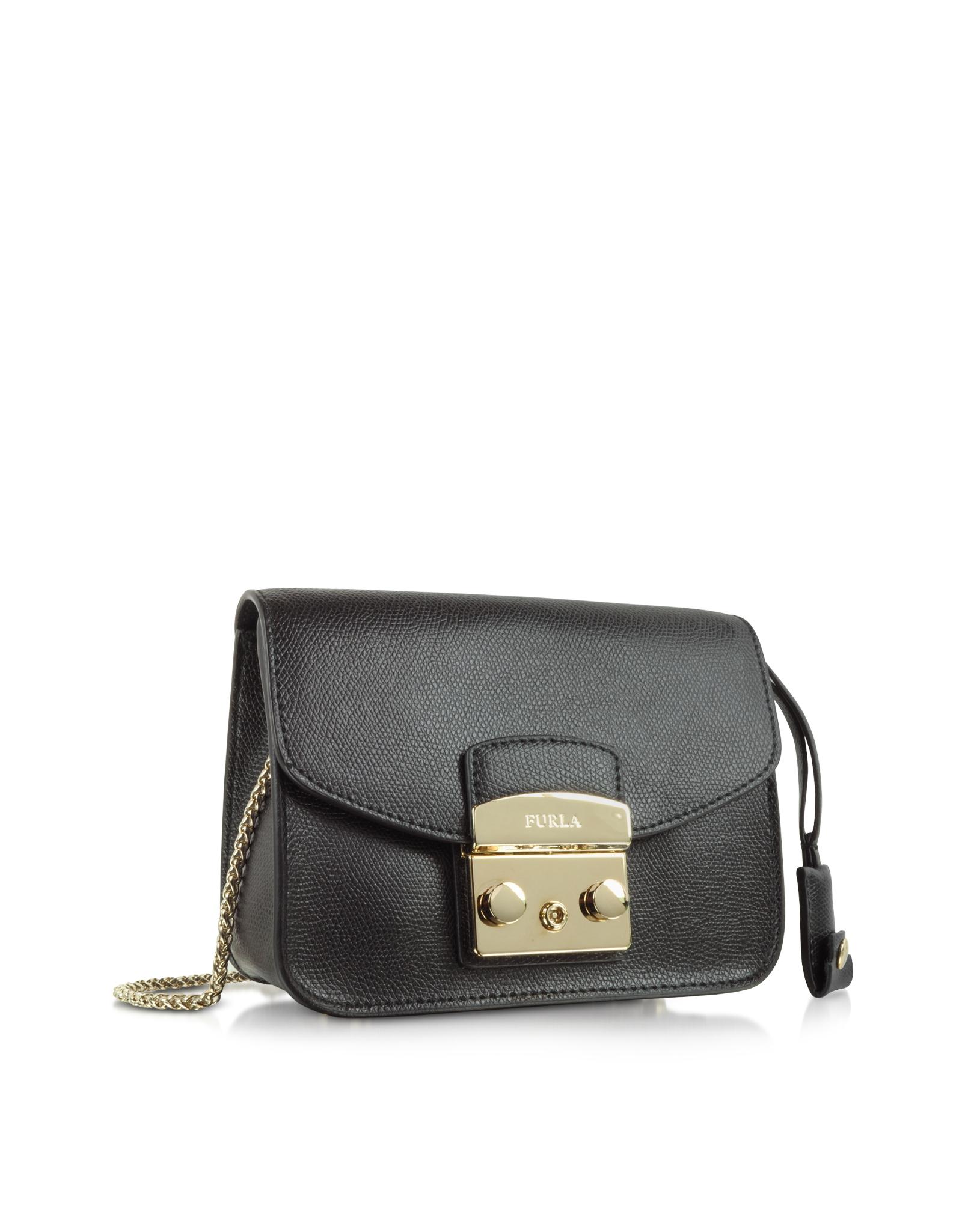 Lyst Furla Metropolis Mini Crossbody Bag In Black Save View Fullscreen