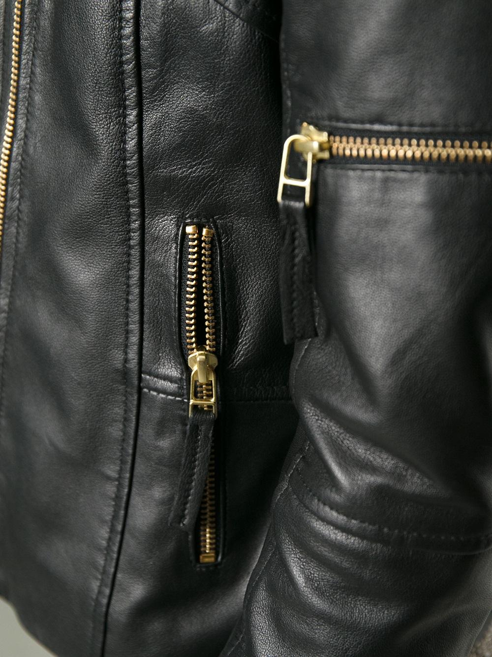 05d2a0681 Day Birger et Mikkelsen Black Nomad Biker Jacket