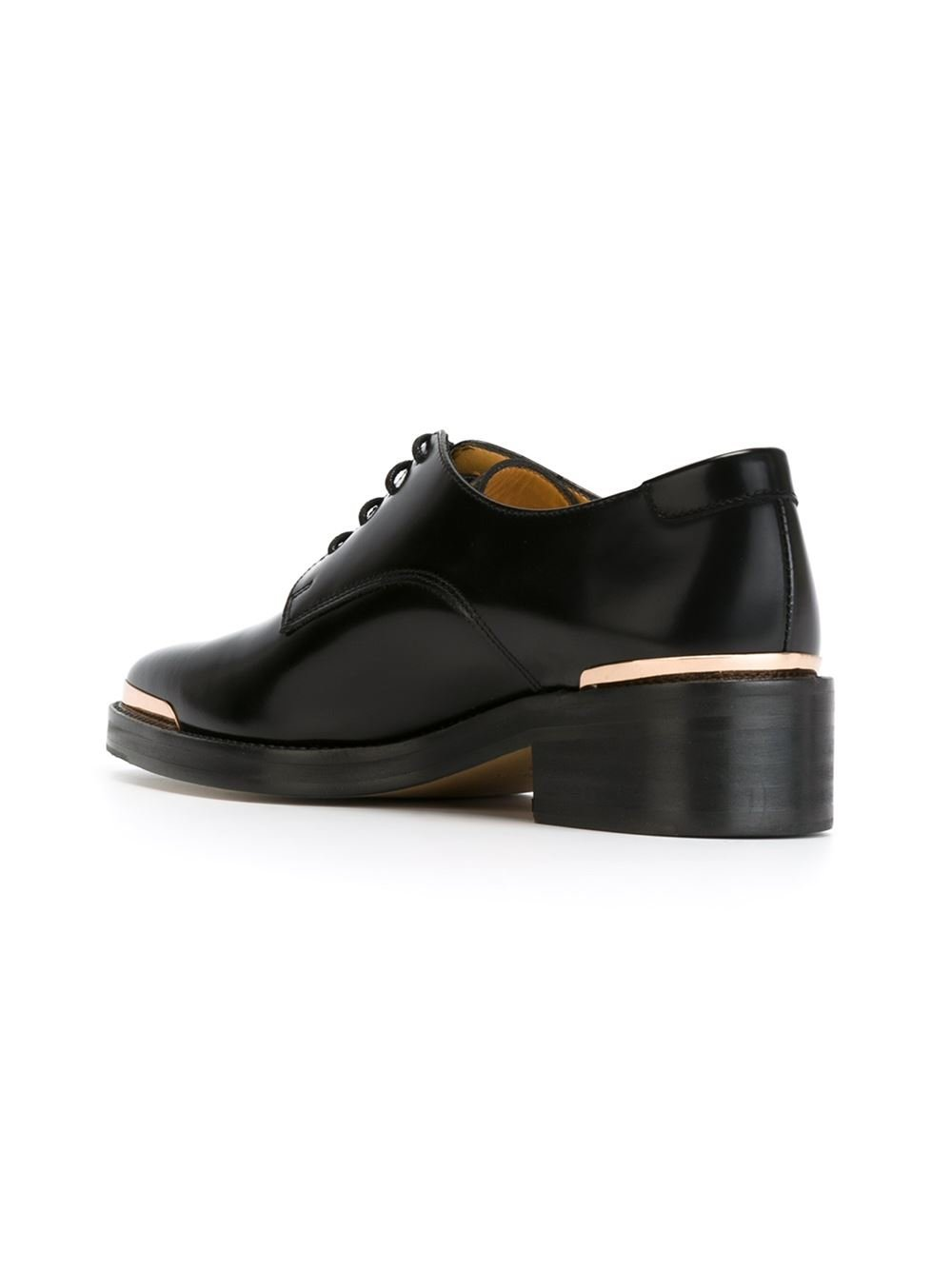 avelon picker lace up shoes in black lyst