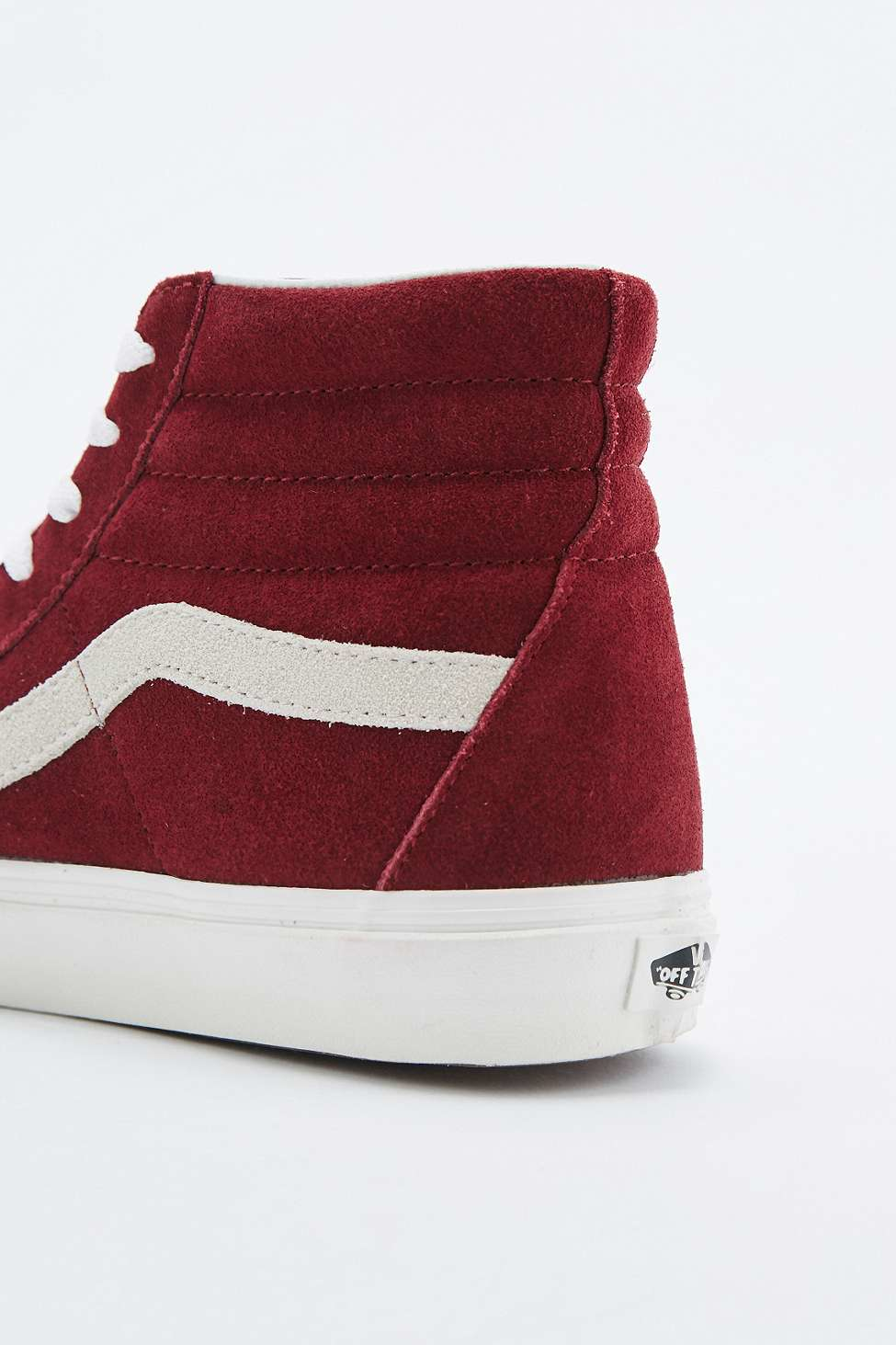 5ddfa06bfe1fb0 Vans Sk8-hi Burgundy Suede Reissue Trainers in Purple for Men - Lyst