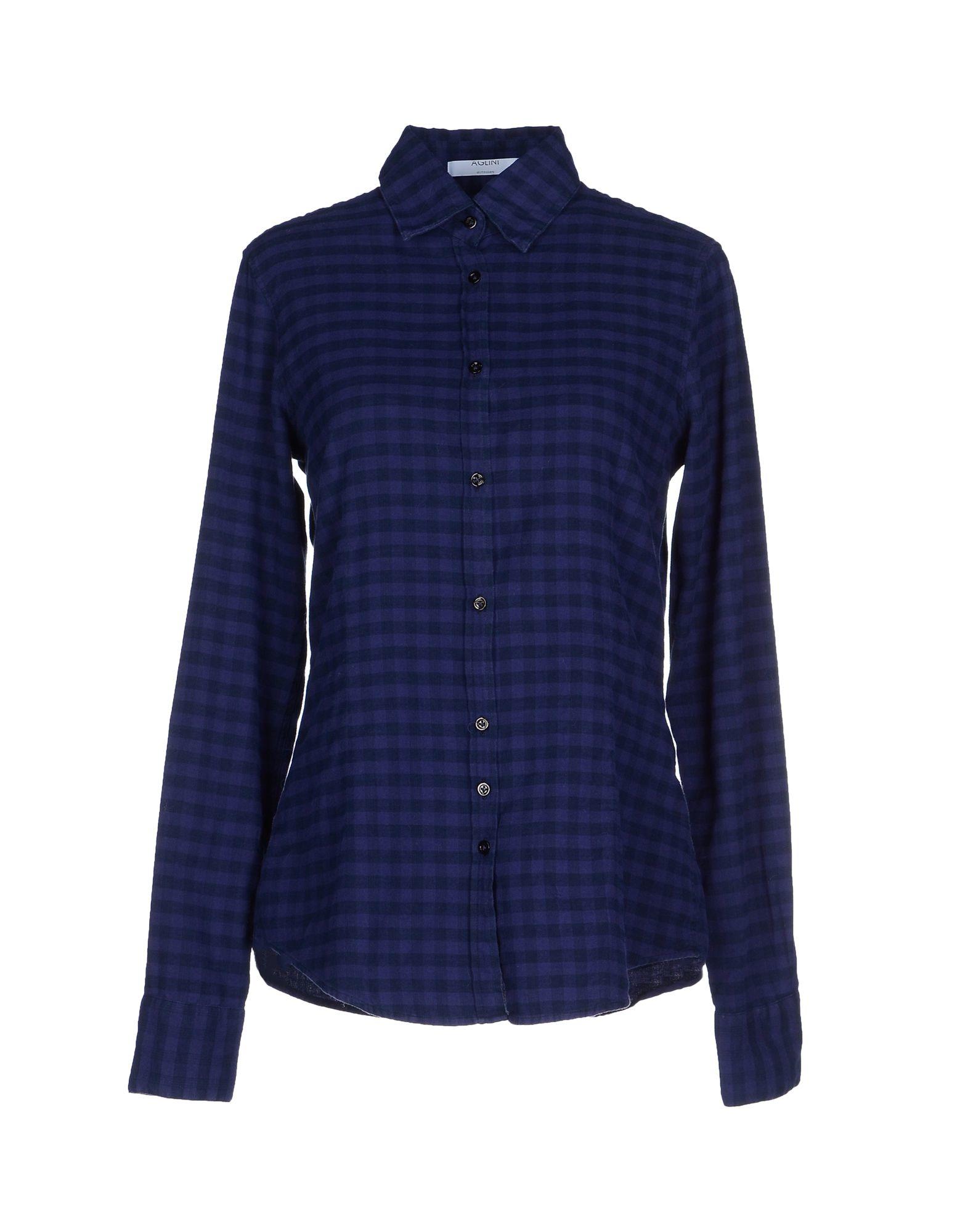 Lyst - Aglini Shirt in Purple