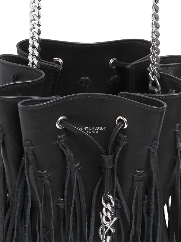 Yves Saint Laurent Patent Leather Bucket Bag Ysl Discount