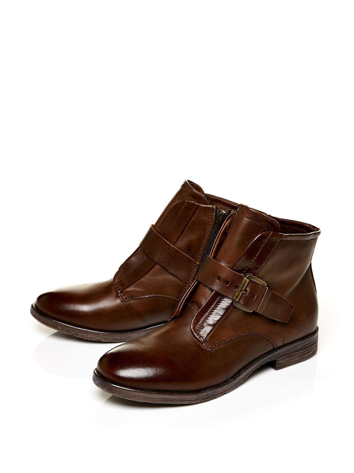 moda in pelle unbeaten smart casual pull on ankle boots in