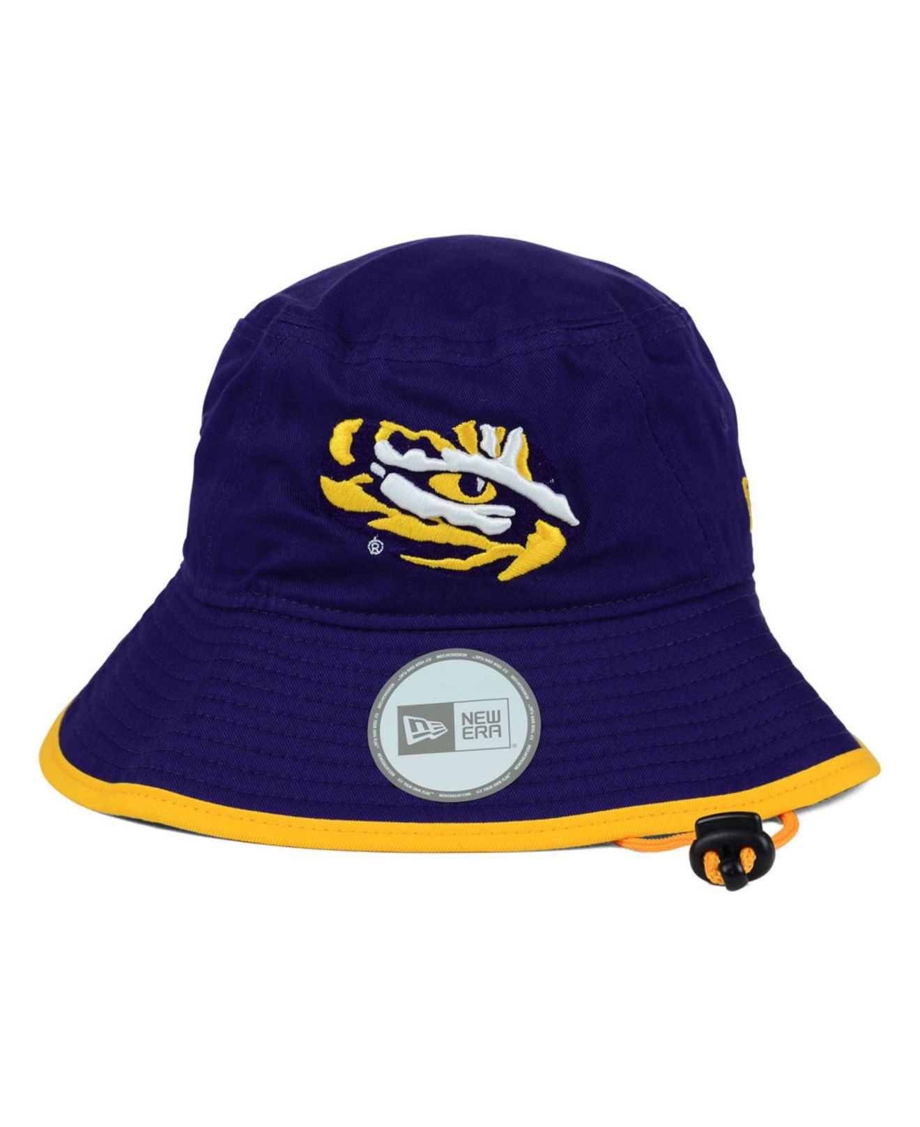 newest 4495c 148ef ... store lyst ktz lsu tigers tip bucket hat in purple for men bc534 a8291