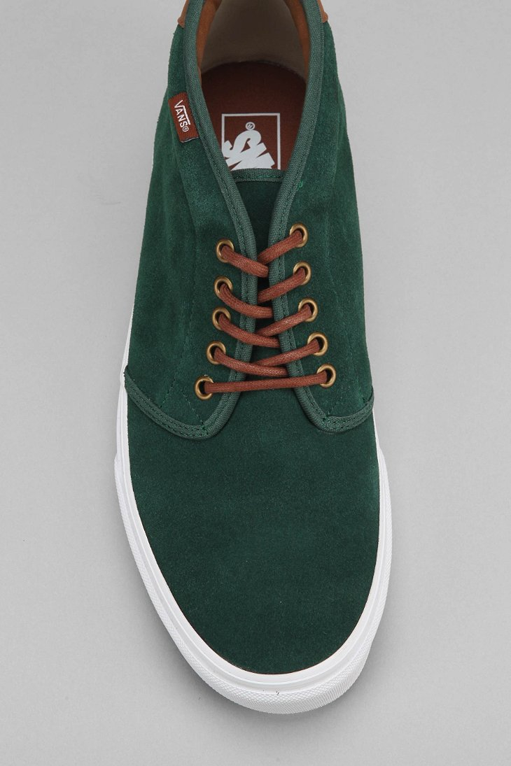 a0ed775a68 Lyst - Vans 69 Mens Suede Chukka Boot in Green for Men