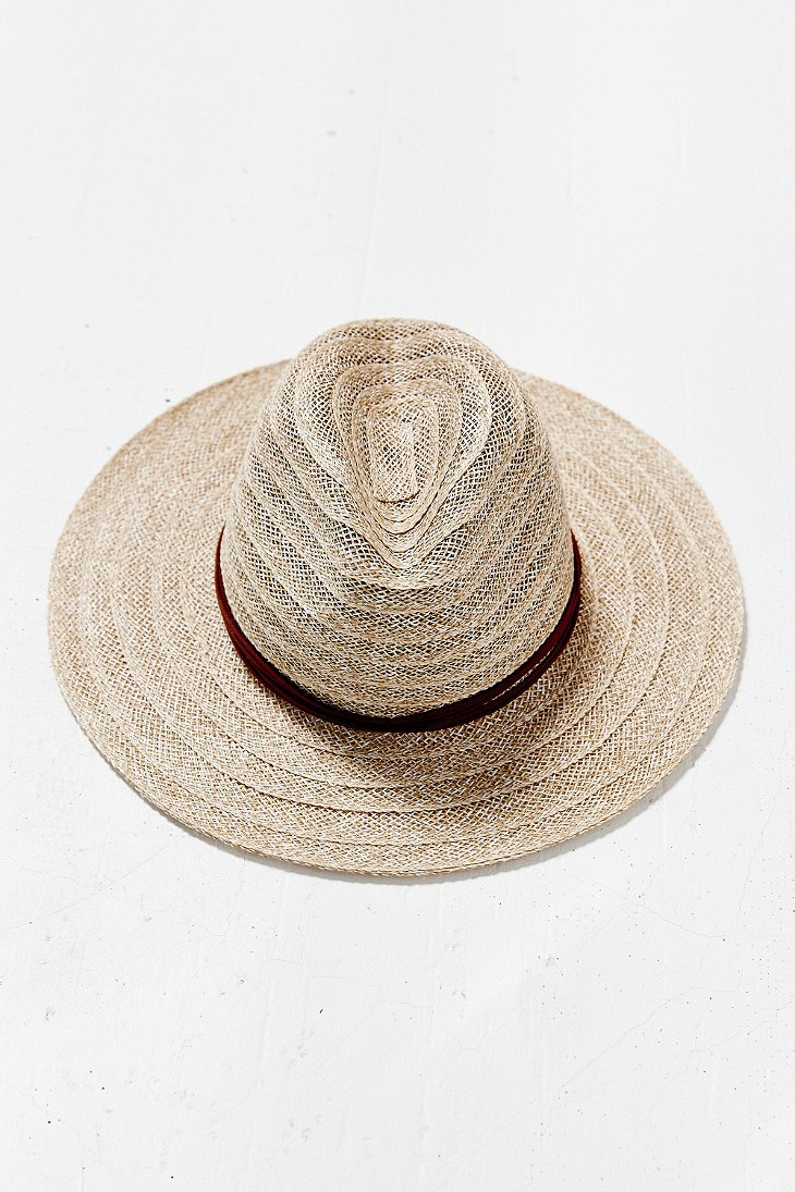 e7035d984 Mint By Goorin Bros. Natural Open Weave Stitched Panama Hat