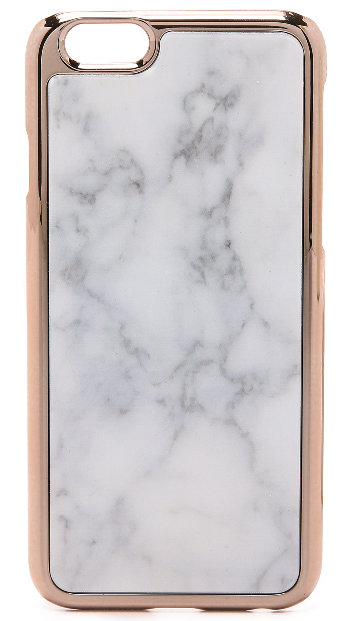 rose gold iphone 6 case marble