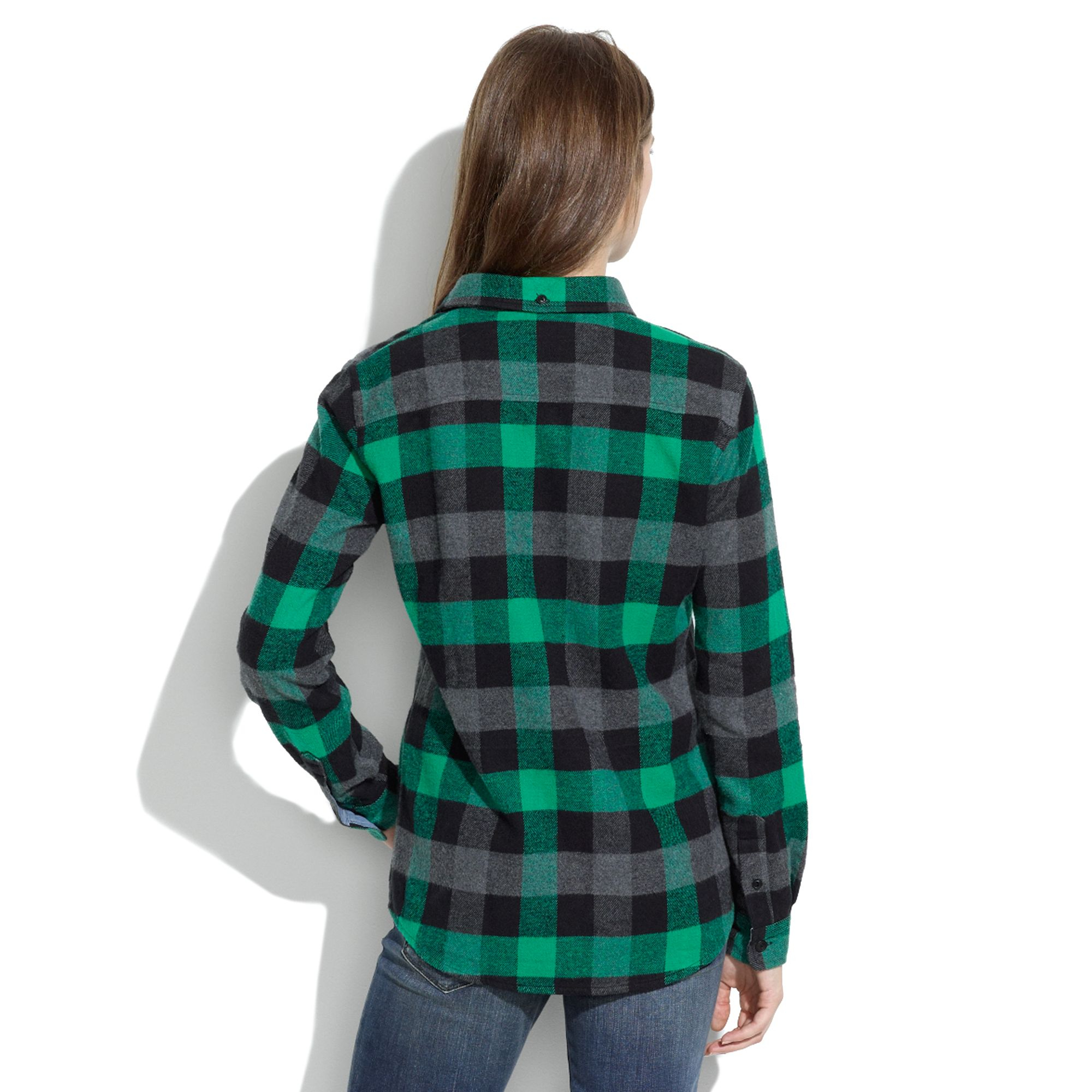 Lyst - Madewell Penfield Reg  Chatham Buffalo Plaid Flannel Shirt in ... d26070f6ecb