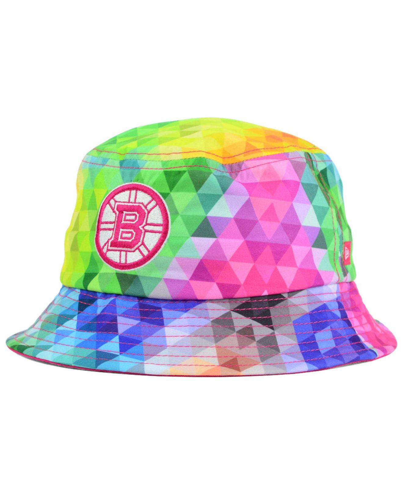 Lyst - KTZ Girls  Boston Bruins Gem Bucket Hat 1b5b00c84ab