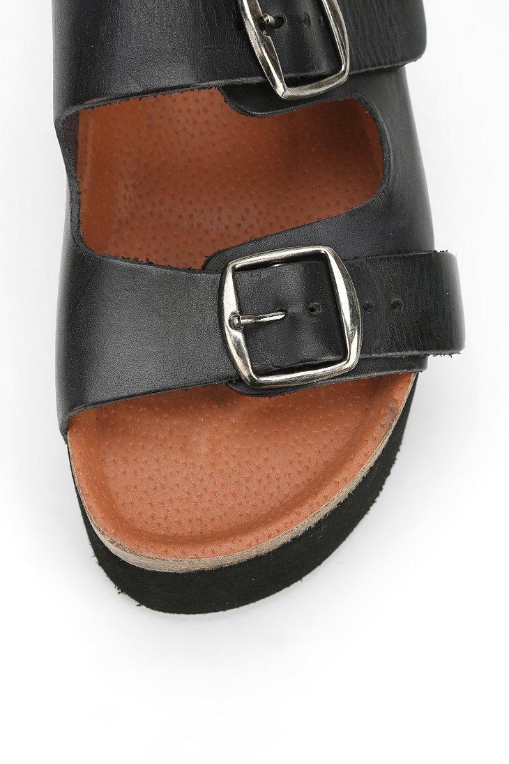 75b378861bb Lyst - Sixtyseven Sixtyseven Indigo Platform Sandal in Black