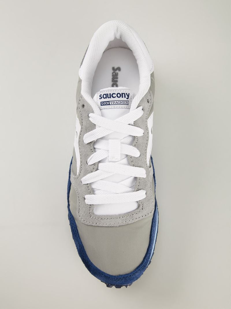 5a682e57c6093 Saucony Gray Dxn Trainer Sneakers