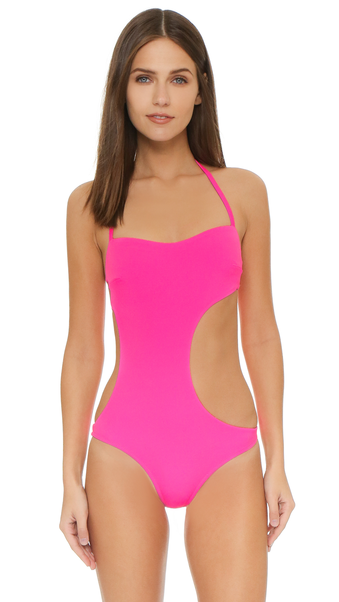 eeda7b1e86 Lyst - L Agent by Agent Provocateur Agata Swimsuit in Pink