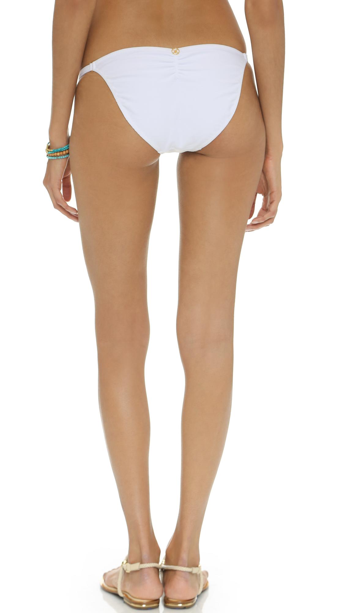 Lyst Vix Sold White Bikini Bottoms Solid White In White