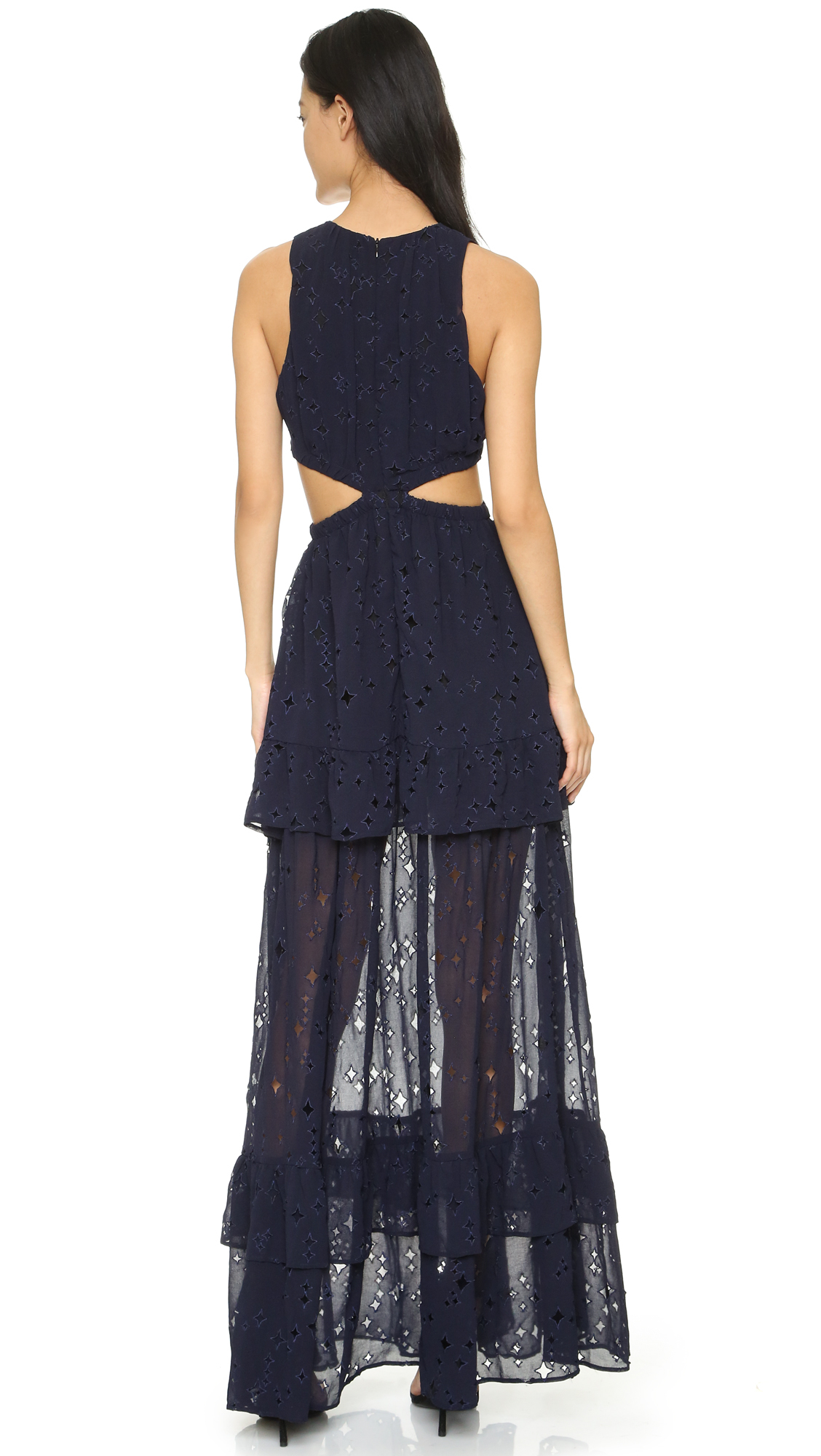Lyst Bec Amp Bridge Dusk To Dawn Dress In Blue