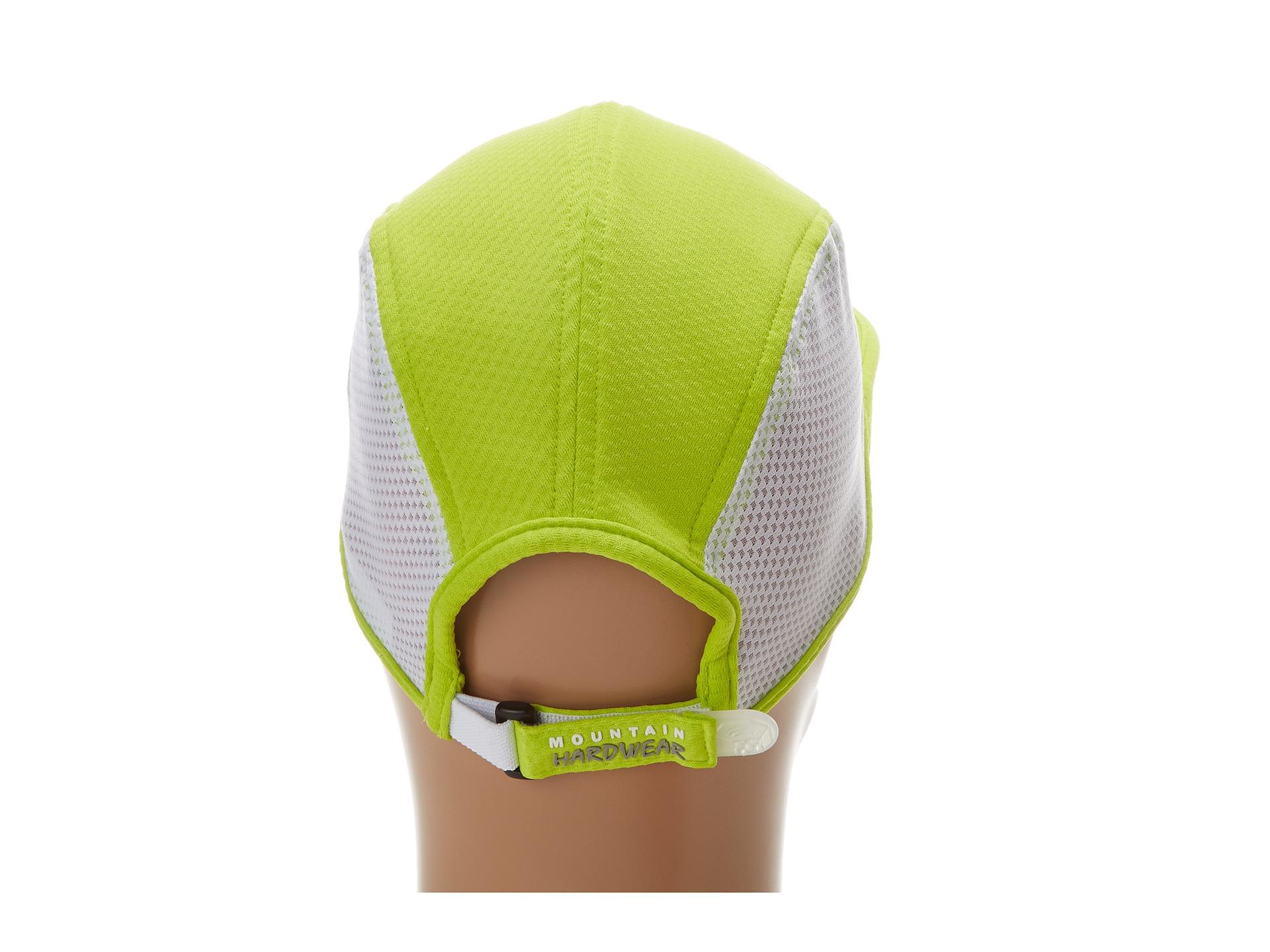 Lyst - Mountain Hardwear Quasar™ Running Cap in Green for Men 36436e5281a