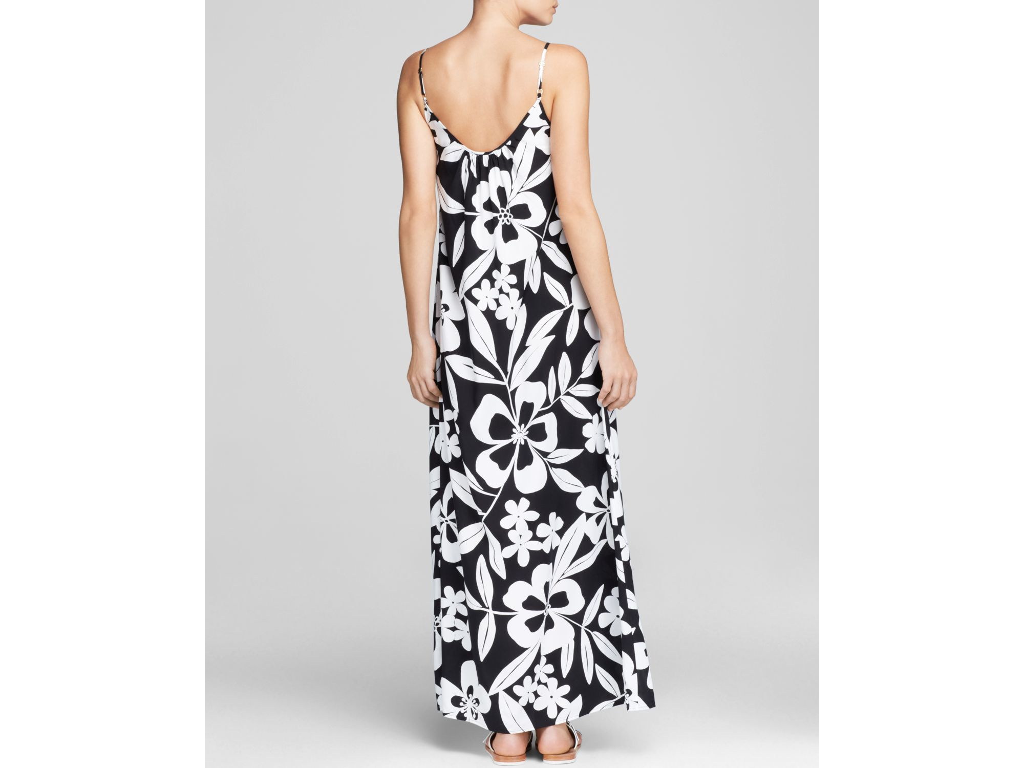 ec4e17088eb Tommy Bahama Hawaii Floral Long Beach Swim Cover Up Maxi Dress in ...