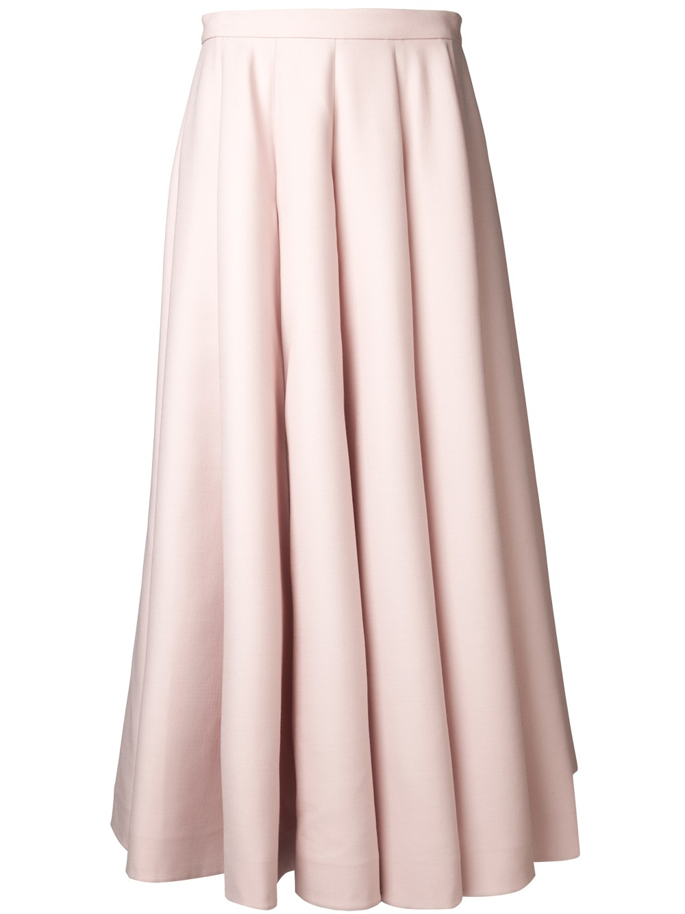 valentino pleated skirt in pink pink purple lyst