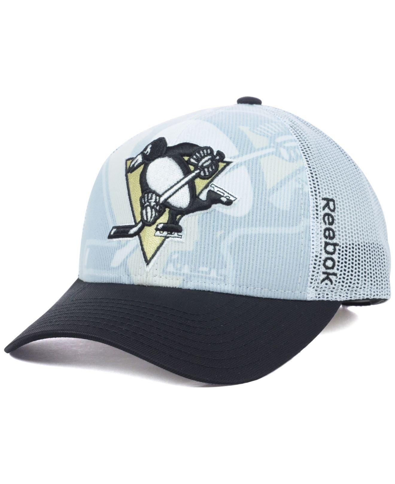 Lyst - Reebok Pittsburgh Penguins Nhl 2014 Draft Cap for Men 359da9d6a1c0