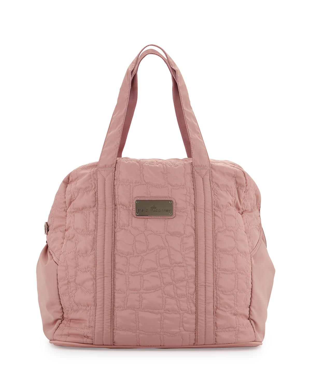 1c2f04ea16 adidas By Stella McCartney Quilted Tech-fabric Essential Gym Bag in ...