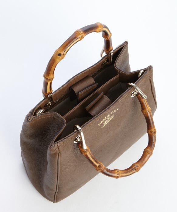 ac5091437399 PRADA MILANO Ecru grained leather top handle bag at 1stdibs. Handbag With  Wooden Handles - HandBags 2018