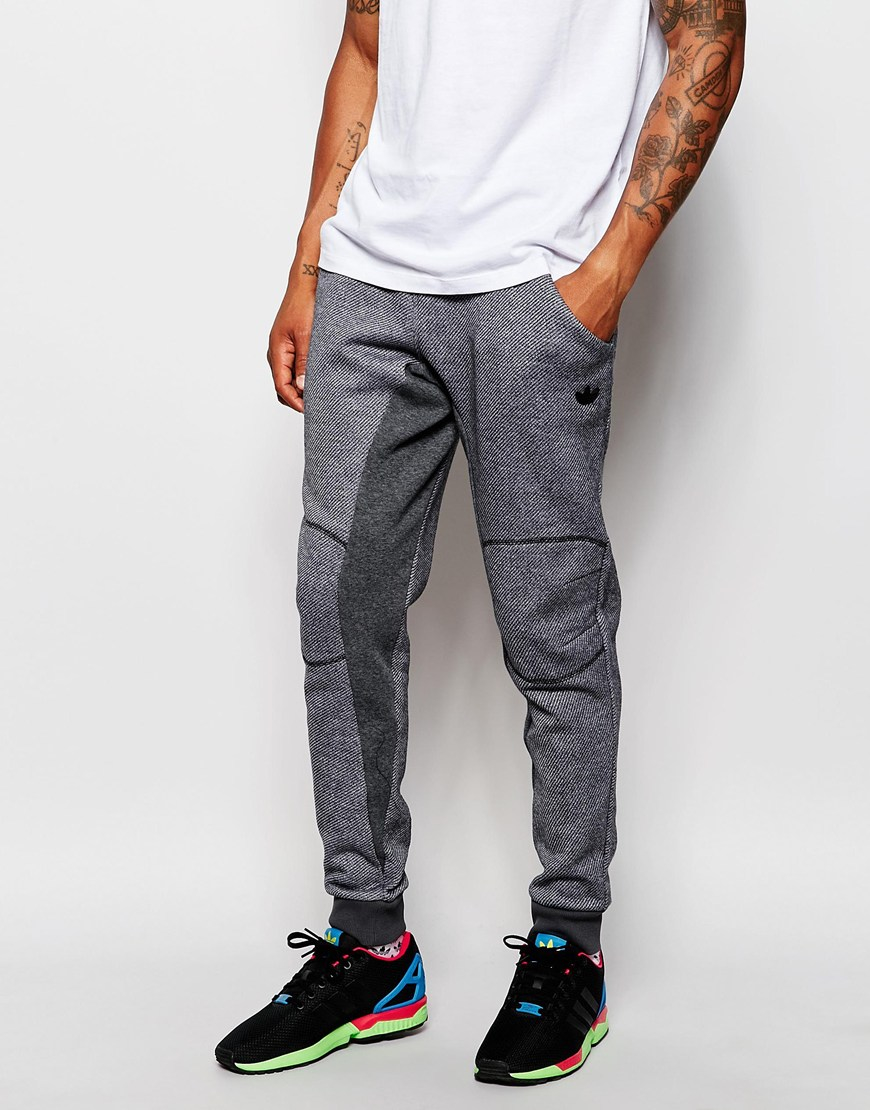 Lyst - adidas Originals Skinny Joggers Ab9275 in Gray for Men 2d3d282cfbb