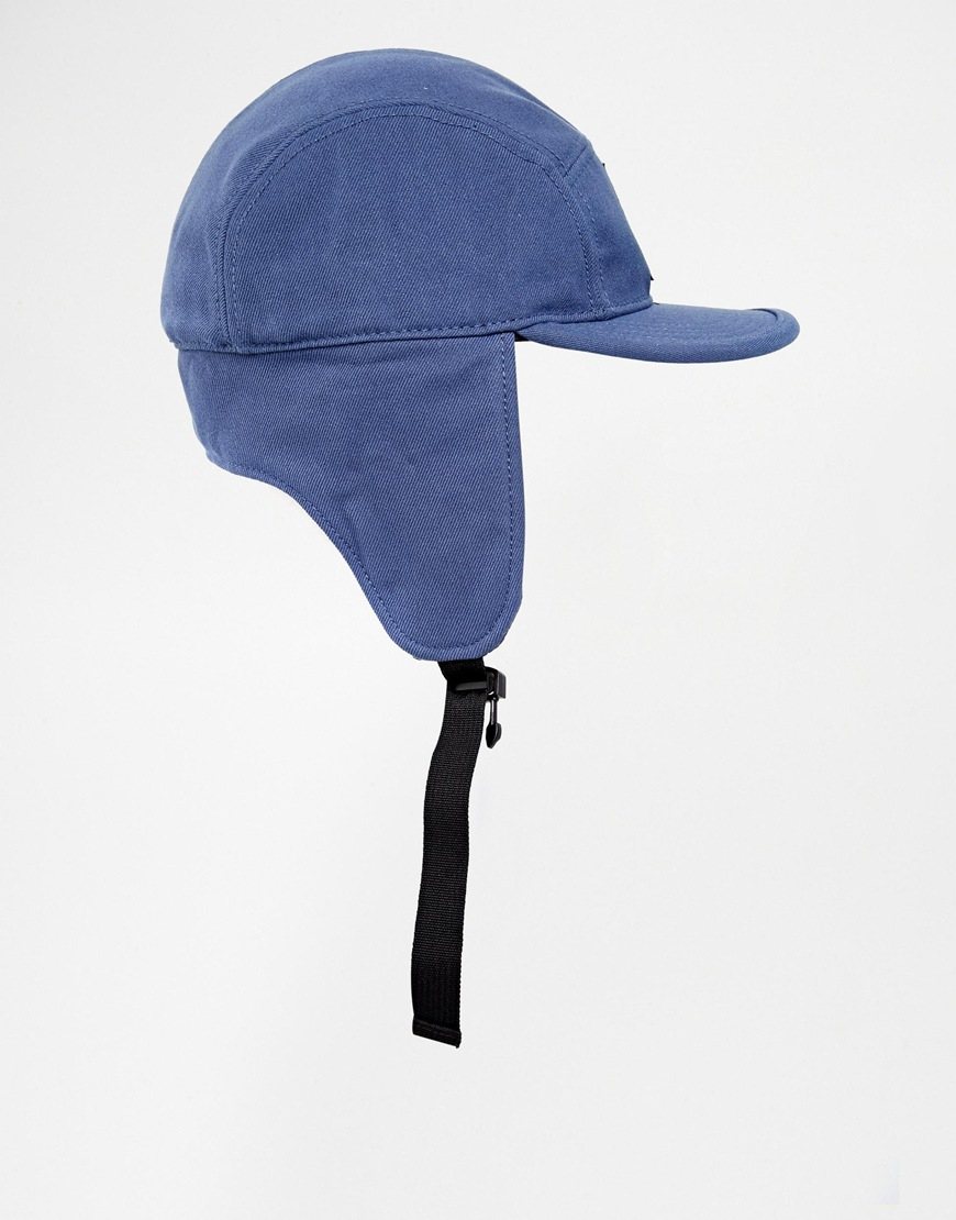 f79691b3eff8c adidas Trapper Cap in Blue for Men - Lyst