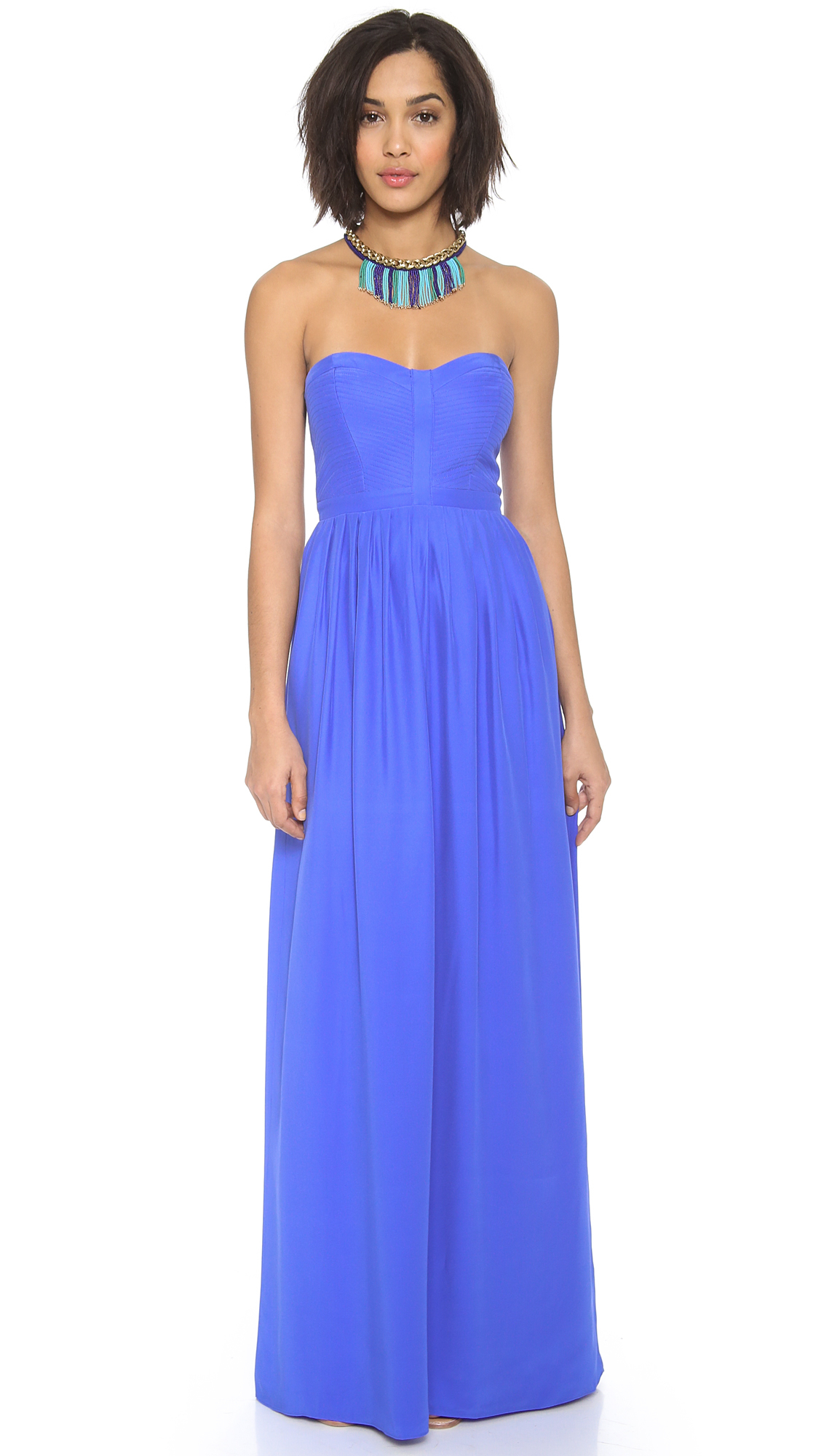 Parker Bayou Maxi Dress in Blue | Lyst