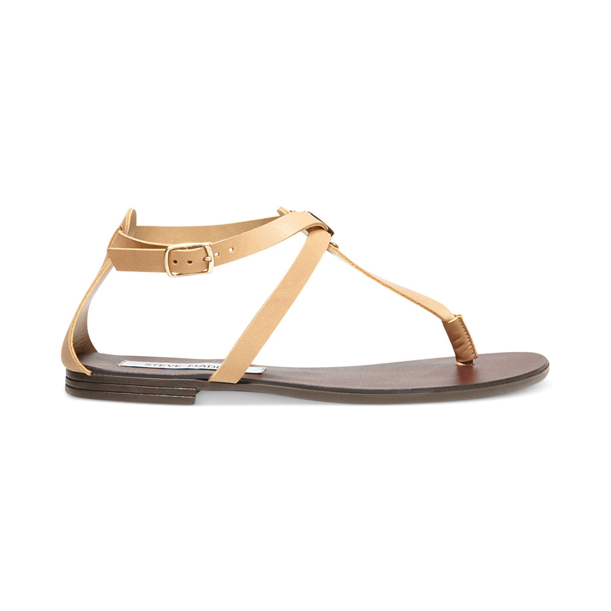 4366578b162 Steve Madden Natural Kween Flat Thong Sandals