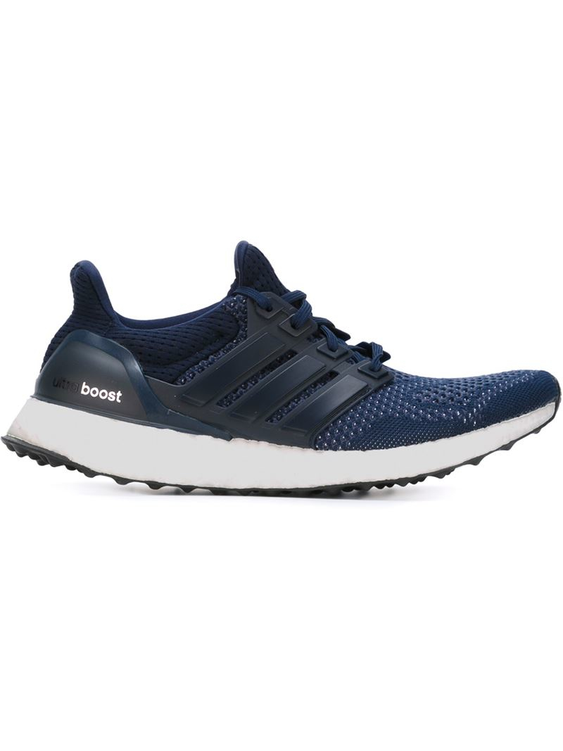 Lyst Adidas Ultra Boost Sneakers In Blue For Men