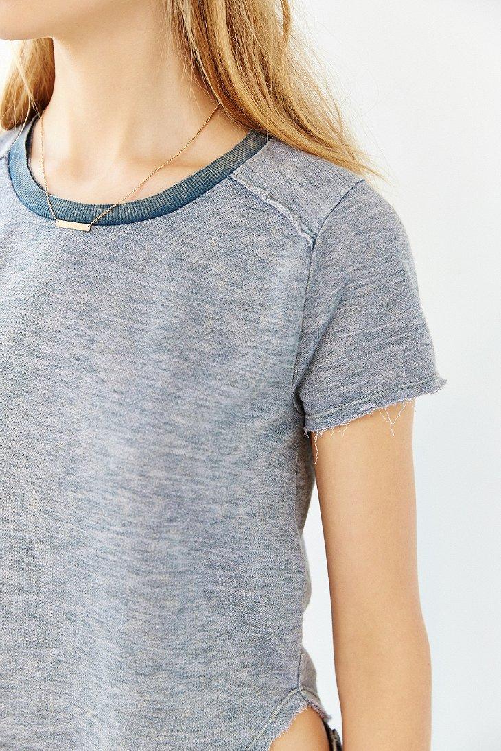 Clothes Ringer 2015 ~ Lyst bdg ringer sweatshirt in blue