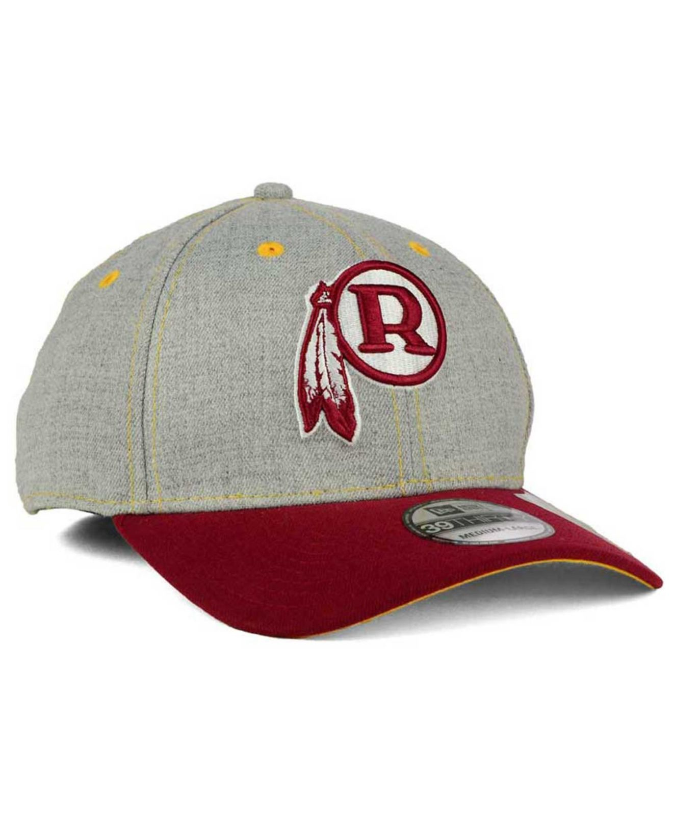 low cost 62b56 a5904 ... promo code for lyst ktz washington redskins change up heather 39thirty  cap in 4c939 61fb3