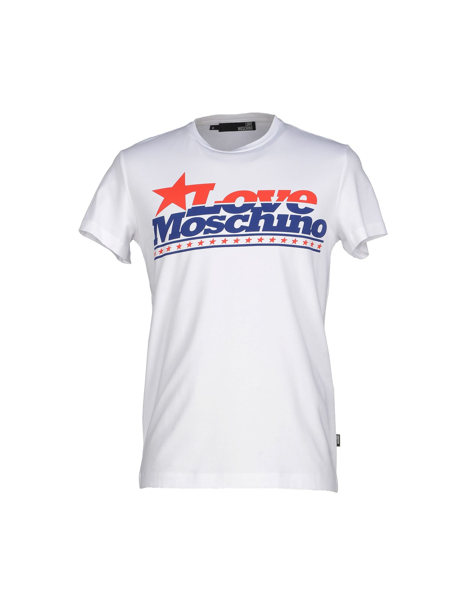 lyst love moschino t shirt in white for men. Black Bedroom Furniture Sets. Home Design Ideas
