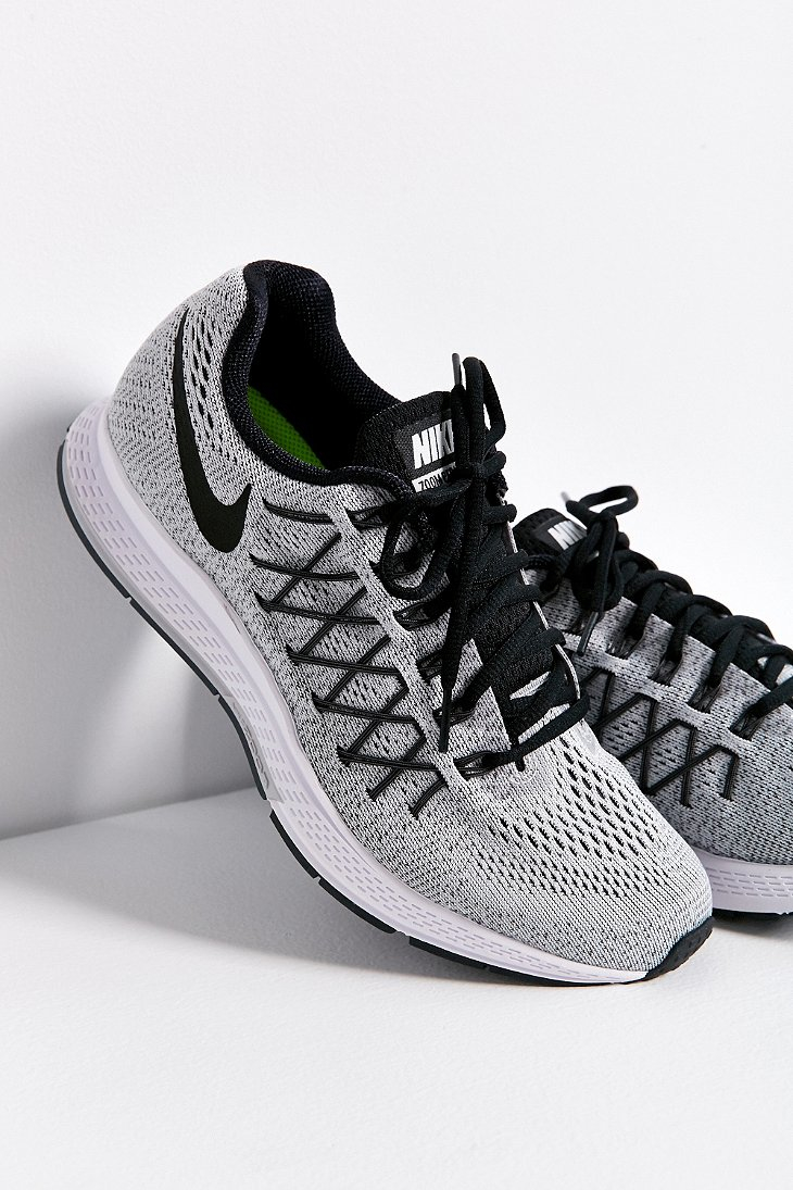 nike air zoom pegasus 32 sneaker in gray lyst. Black Bedroom Furniture Sets. Home Design Ideas
