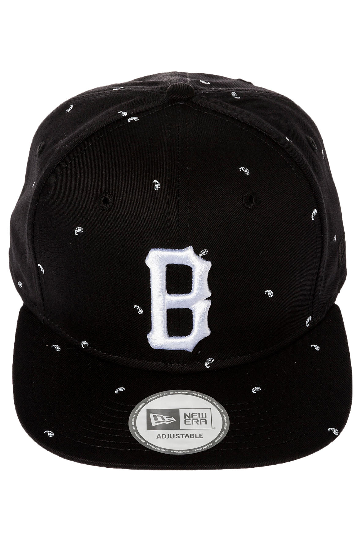 Lyst - Black Scale The Paisley B Logo Strapback Hat in Black for Men 072f076375b1