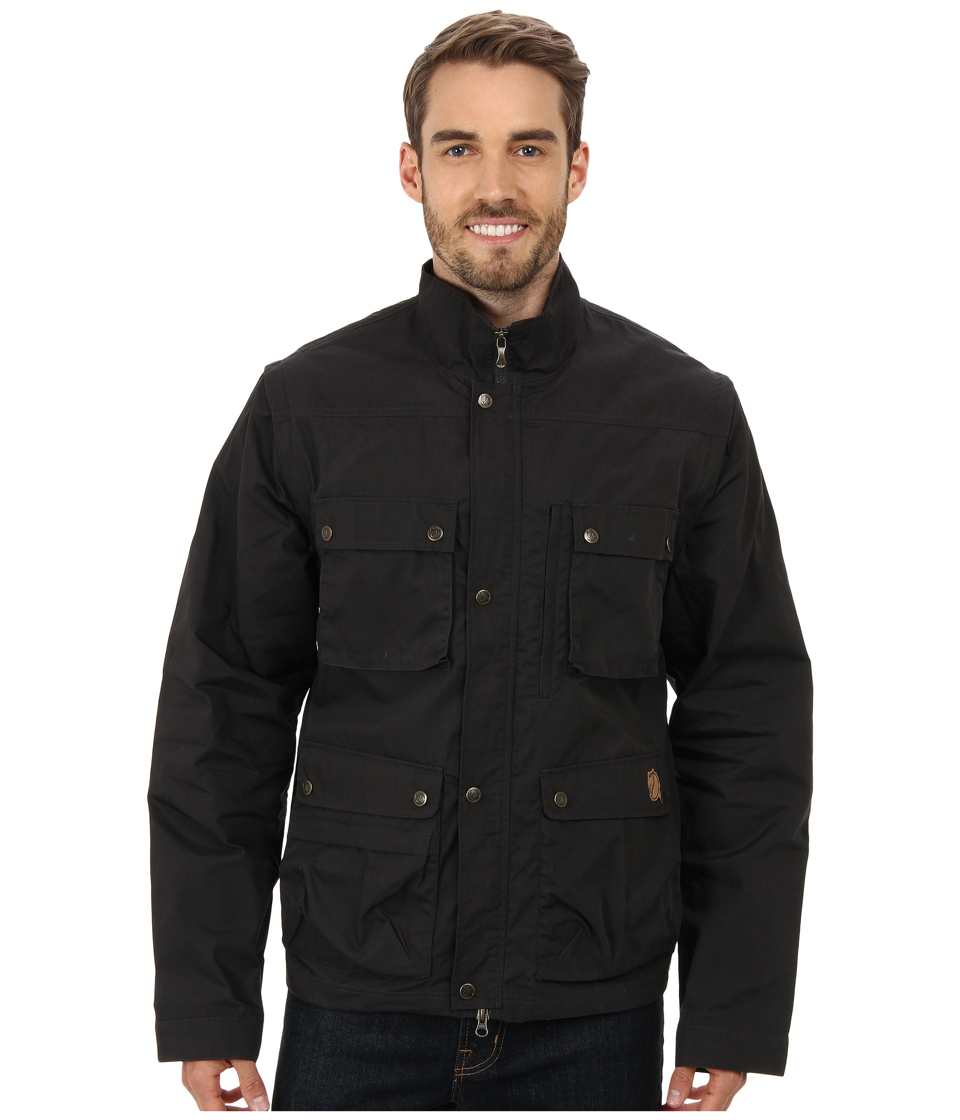 wholesale dealer 93e60 a4be3 Fjallraven Gray Reporter Lite Jacket for men