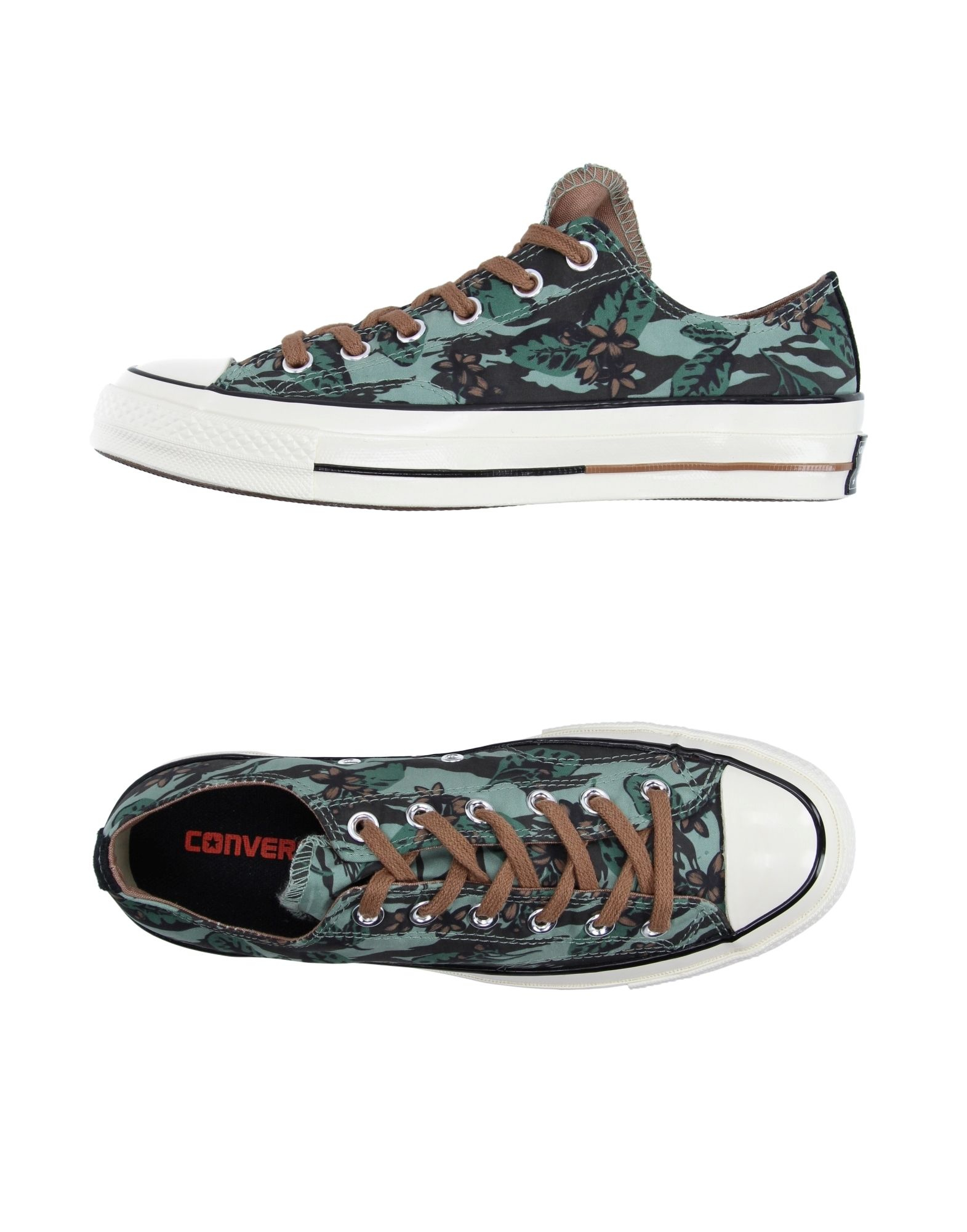 Converse Low Tops Amp Trainers In Green Lyst